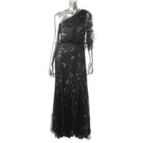 Espectacular Vestido De Fiesta Gala Largo De Diseñadora M L