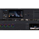 Davinci Resolve Blackmagic Design Diseño Daw Video