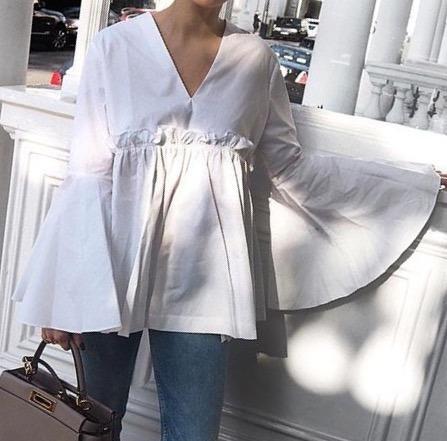 Blusas para mujer Limonni LI633 Campesinas