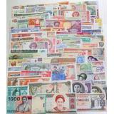 Colección 25 Billetes De Diferentes Países Del Mundo. Nuevos