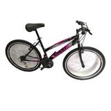 Bicicleta Todo Terreno Rin 24 En Acero, 18 Vel. Aro D/p