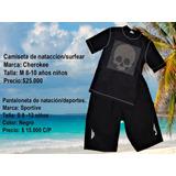 Set Camiseta Y Pantaloneta Para Deportes Acuáticos