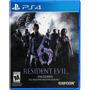 Nuevo Y Sellado! Resident Evil 6 Ps4