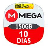 Cuentas Premium Mega 10 Dias Oficial 150gb Envio Inmediato