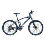 Bicicleta Roadmaster Jumper Doble Suspension 26 Shimano 21v