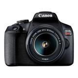 Camara Canon Eos Rebel T7  Kit 18-55 Is 24mp .