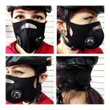 Máscara Tapabocas Antipolucion Virus Protector Bicicletas