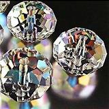 Bingcute Luz Rondelle Cristal Al Por Mayor Perlas Ab Granos