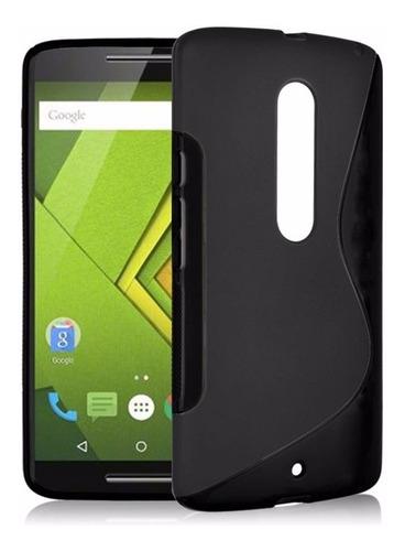 63016b6129f Forro Funda Estuche Motorola Moto X Play Protector Tpu Gel