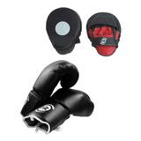 Combo Boxeo Guante 14onz Y Golpeador Sportfitness