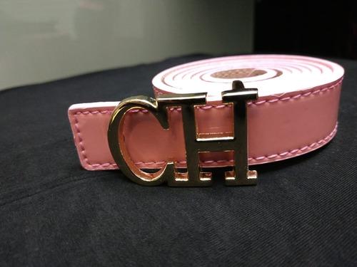 Correa Mujer Carolina Herrera Cinturon Calidad Cuero 0bf46e7cf3b9