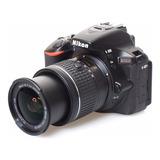 Camara Nikon D5600 Con Lente 18-55mm 24mpx Video Fullhd Wifi