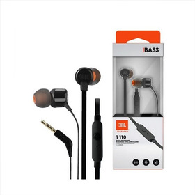 Auriculares Audifonos Jbl T110 Pure Bass Manos Libres