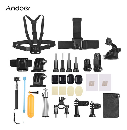 Andoer 46-in-1 Basic Common Action Camera