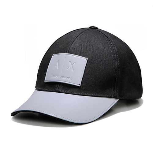 Gorra Armani Exchange - Logo Patch Hat  10% Descuento  97180de3166