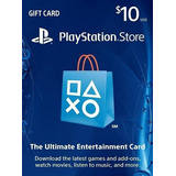 Psn 10 - Playstation Network 10 Usd - ¡entrega Ya!