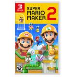 Super Mario Maker 2 Nintendo Switch. Fisico. Español