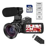 Cámara De Video Videocámara Melcam Hd 1080p Cámara Digita