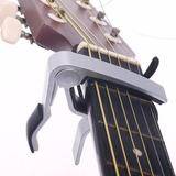 Capo Ajuste Tono Guitarra Electrica Acustica Color Plata