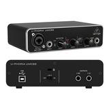 Interfaz De Audio Behringer Umc22 Grabacion Profesional
