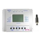 Regulador Controlador Solar Mppt 60 A 12-24 V Pv 48v Serie T