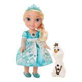 Muñeca Frozen Elsa Canta Español E Ingles Luces