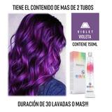 Salerm Tinte Fantasia Violeta 150ml - mL a $219