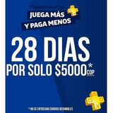 Membresia Playstation Plus 28 Dias - Psn Plus -  Ps4