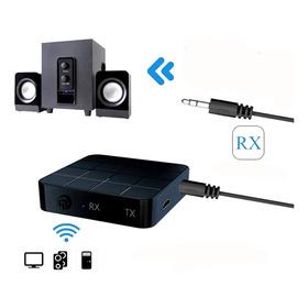 Transmisor Y Receptor Bluetooth Audio Música Tv Equipo