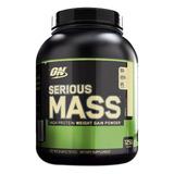 Serious Mass On 6 Lb Vanilla Proteína
