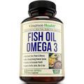 El Aceite De Pescado Omega 3 Píldoras. Ayuda A Aumentar El