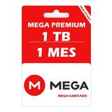 Mega Pro 1024 Gb 30 Días, Envió Inmediato Cuenta Oficial M L