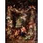 Poster (46 X 61 Cm) Holy Family With Wreath Of Fruit &
