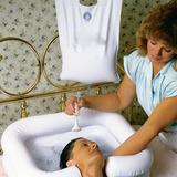 Lava Cabezas Y Cabello Inflable Para Pacientes En Cama
