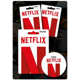 Tarjeta De Regalo Netflix Pin Virtual Saldo $20.000 Colombia