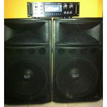 Amplificador Spain Sa 87 Usb 1500 Con Tuner Sin Cabinas
