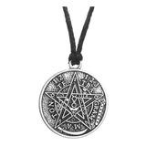 Collar Tetragramaton Pentagrama Wicca Pagan Hombre Y Mujer