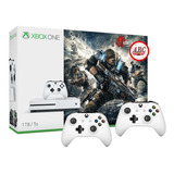 Xbox One S 1tb Gears Of War 4 +4 Juegos Extra + 2 Controles