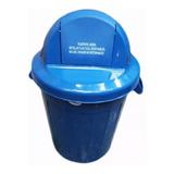 Caneca De 120 Litros Con Tapa Cúpula Para Clasificar Residuo