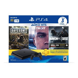 Ps4 Slim 1tb + 3 Juegos + Psn 3 Meses Playstation Consola