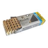 Bala Salva Fogueo Arma  9mm Pistola Municion Kaiser X50