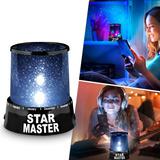Lámpara Proyector Led Estrellas Dormitorio Niños Rf 594