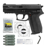 Pistola Sig Sauer® Sp2022 4.5mm Pipetas Co2 Gas +300 Balines