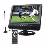 Televisor Portátil 9 Pulg, Control, Tdt Incorporado + Envío