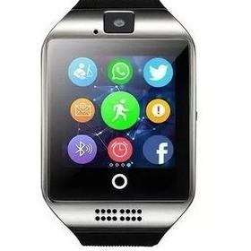 Reloj Inteligente Smartwatch Q18 Cámara Sd + Lápiz Táctil