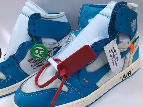 559820ad1549b Nike Air Jordan 1 Retro High Og Unc Off-white Originales