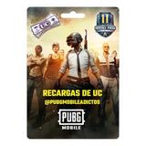 Recargas Uc Pubg Mobile 660 Unknown Cash