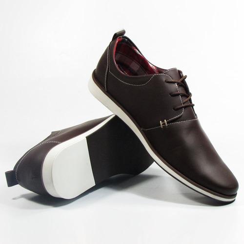 0f269514bc1 Zapatos En Cuero Para Hombre Samm Café - Outletshop -