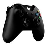Control Xbox One S Negro Audio 3.5mm Compatible Pc Original