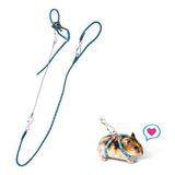 Accesorios Para Hamster Hypeety Collar De Entrenamiento Azul